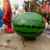 Children Playground Decoration Fiberglass Cartoon Mascot Fruit Statue