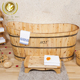Classical Design Kangxi Cheap Wooden Freestanding Bathtub From China