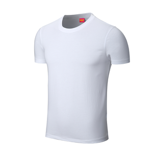 high quality stock blank white printed t shirt below $1