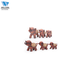 Mother and Son Resin Elephant Statues For Sale Elephant