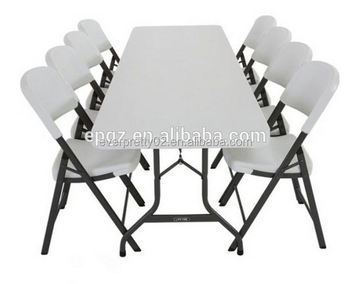 Exceptionnel 6 Seater Cheap Sale Modern School PE Plastic Dining Table And Chair For Kids