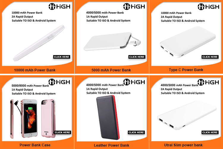 Best power bank brand 4000/5000mah slim credit card power bank wholesale rohs mini powerbank mobile power bank