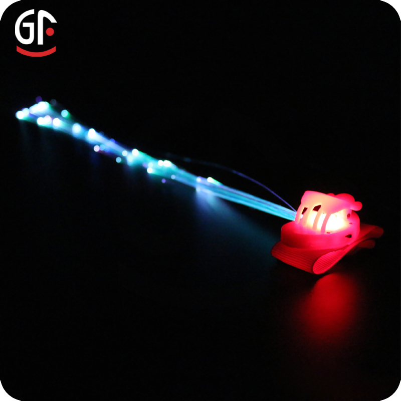 Party Favor Led Hair Accessories Lighted Hair Braid
