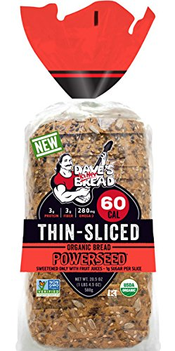 Dave's Killer Bread - Organic - Powerseed, Thin Sliced - 2 Loaves