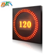 Road speed limit led display sign,highway/tunnel display sign,VMS screen