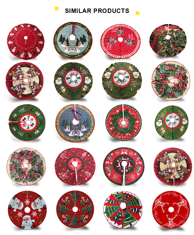 Factory Supply Best Cheap Decorative Christmas Tree Skirts ...