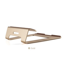 Newest Lapdesks Aluminium Alloy Design Notebook Stand Ergonomic Computer Table Gold Silver Laptop Stand 11″ to 15″ 6626
