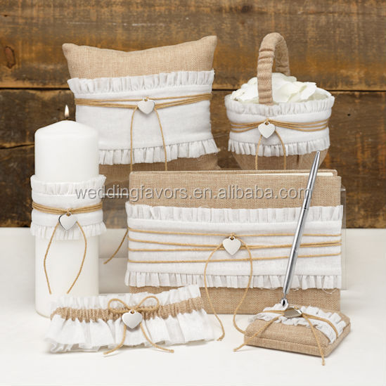 Rustic Romance 6 Piece Wedding Collection