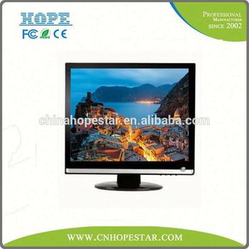 best price 15 inch lcd led monitor with vga customized logo lcd monitor