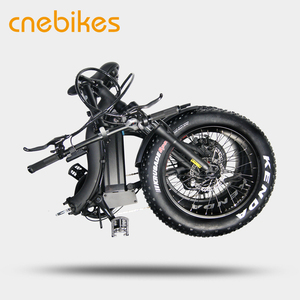 Electric Bicycles Folding 20inch Fat Tire Electric Bike 350W