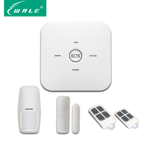Wireless GSM Alarm System Home Security with Big SOS Button