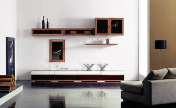 2014 Latest Design Modern Tv Wall Unit Was Made From E1 ...