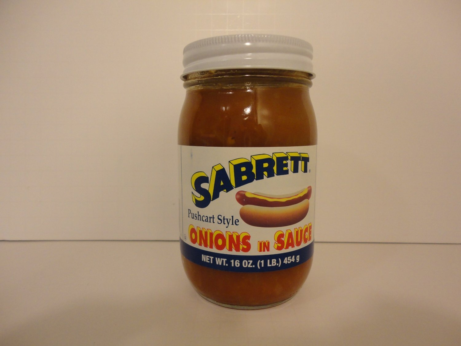 Sabrett Pushcart Style Onions In Sauce, 16 oz (4 Jars)