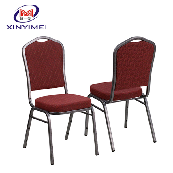 luxurious wedding banquet steel dining <strong>chair</strong>