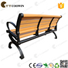 long wooden bench with long service life time
