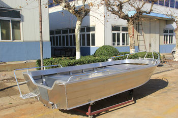 14ft Used Aluminum Fishing Boat For Sale Buy Aluminum Boat Used Fishing Boat Boat For Sale 14ft Aluminum Boat Qingdao Allheart Marine Welded