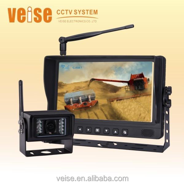 "7/"" DIGITAL REAR VIEW BACKUP REVERSE CAMERA SYSTEM FOR GRAIN CART LIVESTOCK FARM"