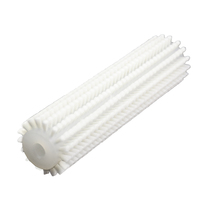Factory Supply Nylon Bristle Cylinder Industrial Fruit Roller Cleaning Brush