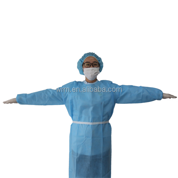 Humanistic reusable autoclavable surgical gown for animal hospital