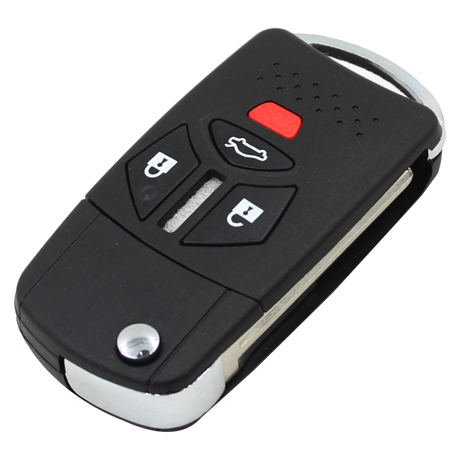 ARANA New Design 4/3 with Panic Buttons Remote Key Fob Flip Key Case Shell for Mitsubishi