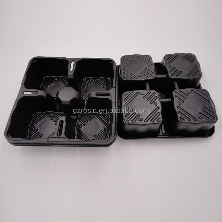 mini flower pot high quality customized plastic square small flower pot with competitive price