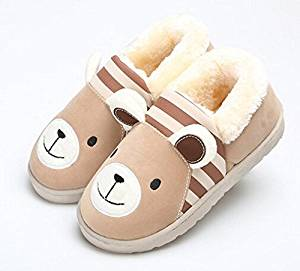 2015 Cute Cartoon Children Slippers Autumn and winter thick home warm cotton slippers /plush slippers /Anti-skid Home House Slippers Fashion Travel Kid gift Slippers Child Footwear/Slippers