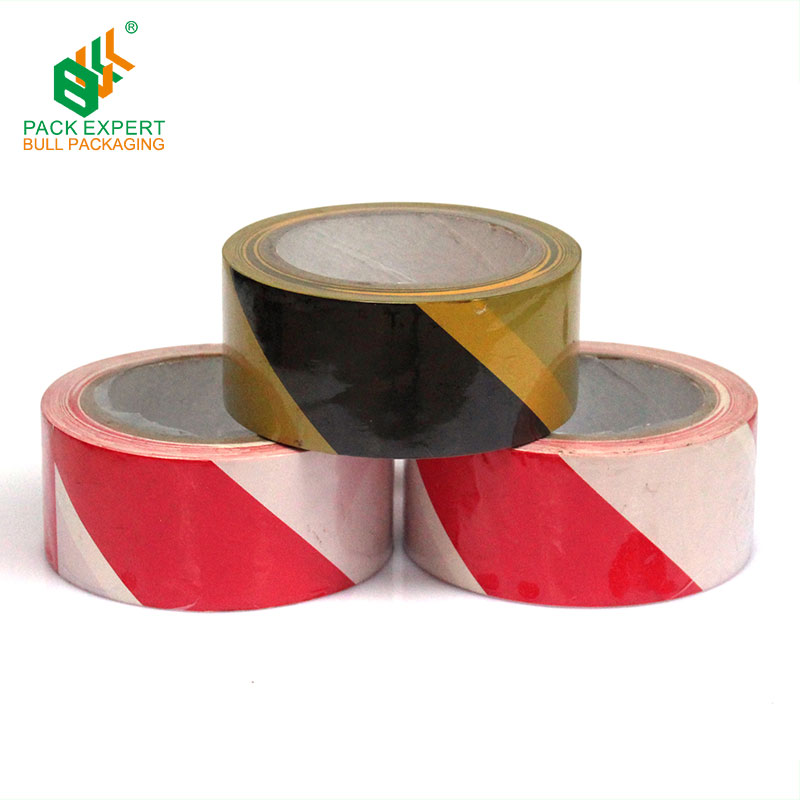 Wholesale price PVC lane marking tape custom pvc warning tape Colorful police crime scene barricade caution security tape