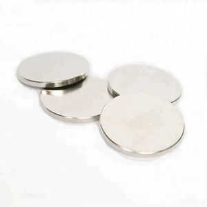 Strong cheap Nickel N52 wholesale Magnets Mini Silver Bulk Super Round Disc Rare Earth Neodymium Magnet