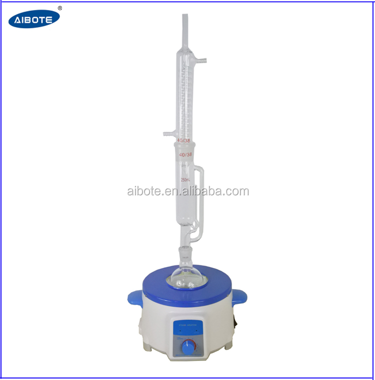 250ml Boiling Flask Distillation Soxhlet Extraction Apparatus View Industrial Soxhlet Extraction Unit Aibote Product Details From Aibote Henan Science And Technology Development Company Limited On Alibaba Com