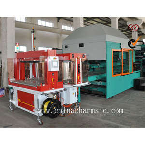 High speed inline strapping machinery