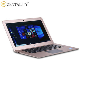 Zentality14 inch luxury gold notebook 4GB ram 64GB rom HD screen window 10 shenzhen laptop made in China 14 inch laptop
