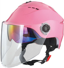 Summer dual visor half face motorcycle helmet for sale