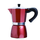 Milk Frother on Sales High quality Coffee Machine Moka Pot Coffee Maker wholesale, Made of Aluminum