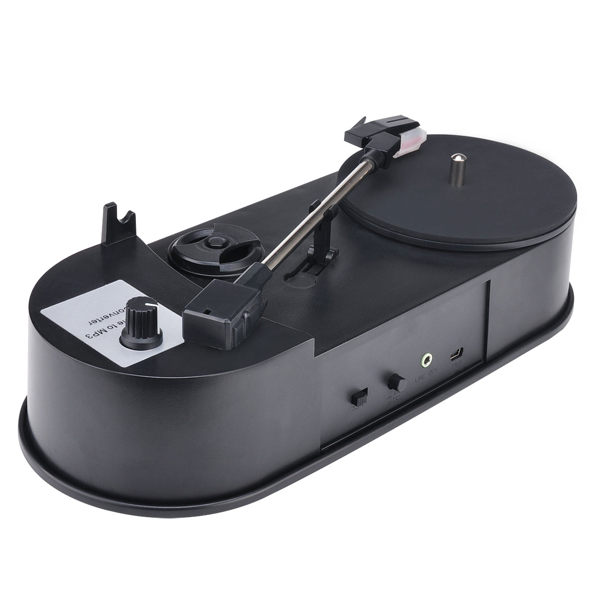New OEM phono USB Turntable Converter Vinyl to MP3 both 33 and 45 rpm ezcap610P