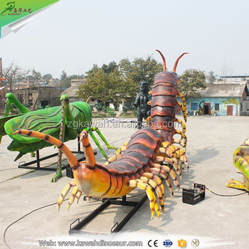 Kawah Giant Centipede Model Artificial Animatronic Insect Model - Buy  Animatronic Insect Model,Giant Centipede Model,Centipede Model Product on