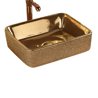 Wholesale Ceramic Gold Toilet Color Basin For Sale