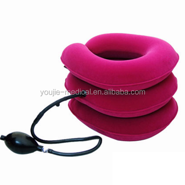 Inflatable Neck Traction Collar Cushion for Neck&shoulder Pain Relief
