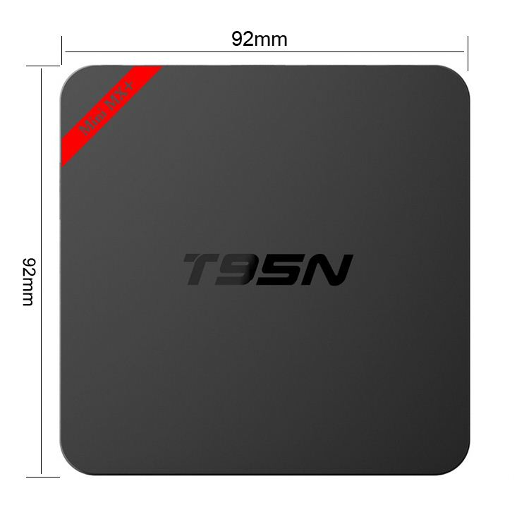 T95N MINI MX+ plastic housing google android 5.1 OS HD 2.0 output andriod tv <strong>box</strong> with 4K output