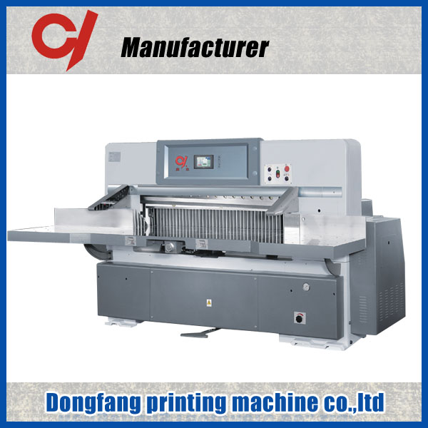 QZK 920 1300 1370 IR safety guard The printing press guillotine jigsaw puzzle cutting machine