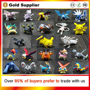 2018 Hot Sale 144pcs Different LPS Pokemon Figures Child Toy Cartoon Anime Mini Pokemon Go Set Action Figures Toys For Kids