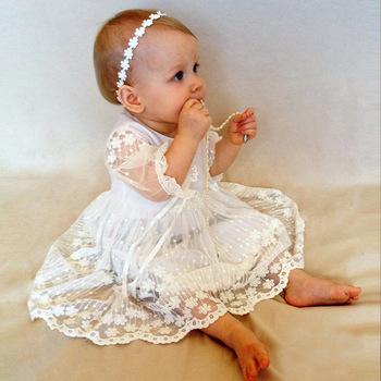 BJ1036 único de manga corta bebé niña bautismo vestido nuevo diseño para  niñas pequeñas c3a0e73f1833