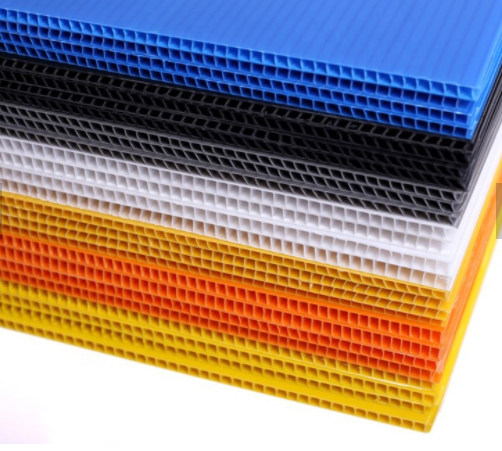 China hot sale recycled polypropylene <strong>pp</strong> hollow sheet plastic corrugated board