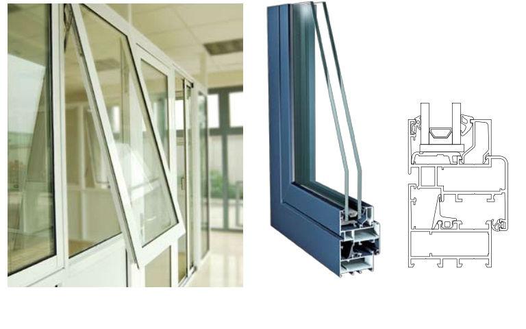 Alluminio finestra vasistas porta id prodotto 144956455 for Finestra vasistas