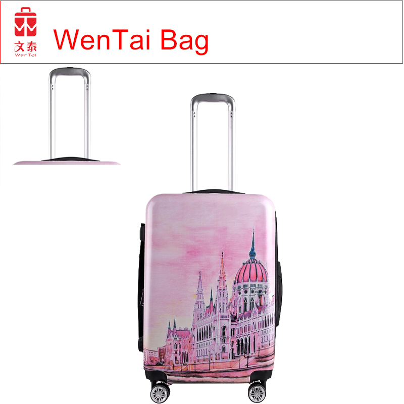 Refined trendy 20'' 24'' 28'' hard case abs trolley luggage