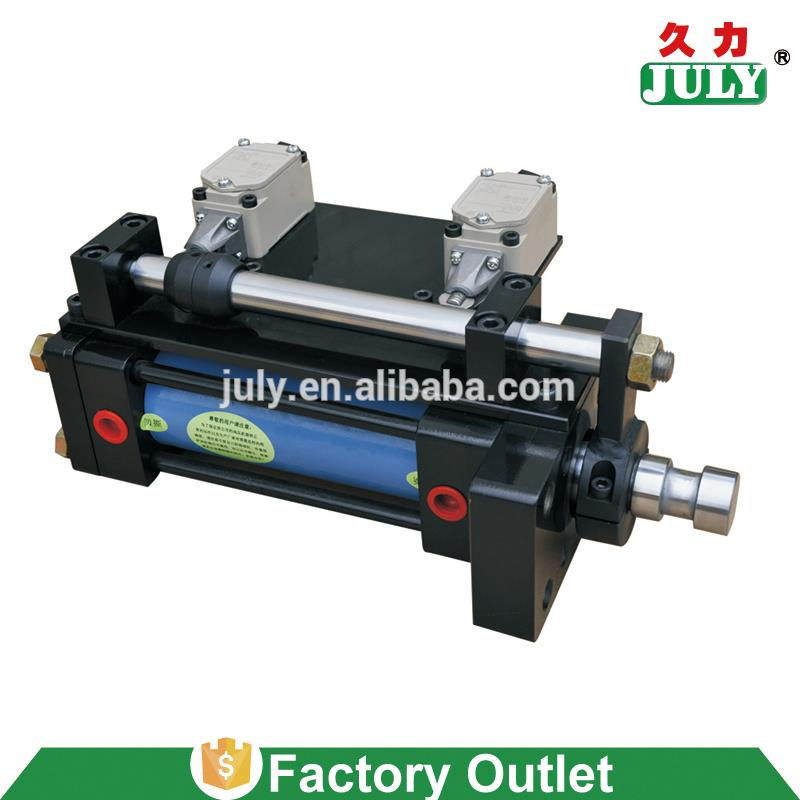 China supplier JULY factory homemade electric lift ram cylinder