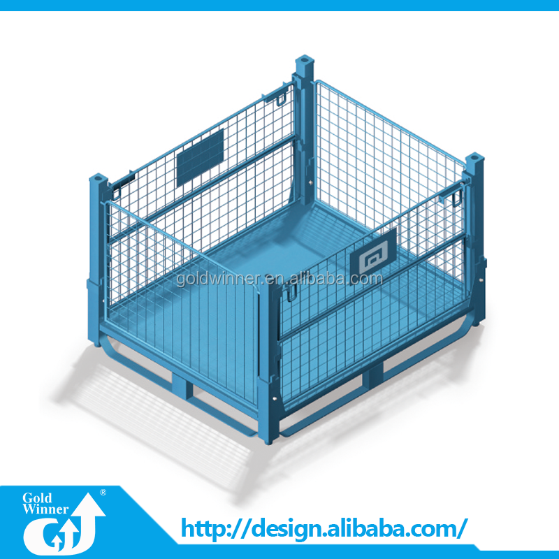 Hot selling promotion storage collapsible steel wire mesh cage
