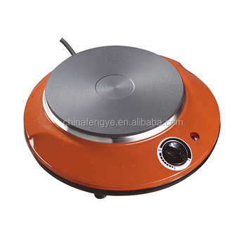 Portable Electric Stove Single Burner Round Hot Plate