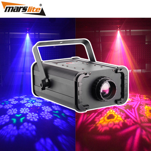 2019 New items disco show light 100W white LED Kleidoscope rotating panel stage flower effect dj lighting equipment