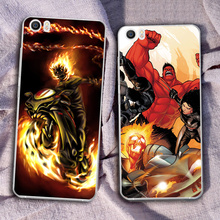 Customized factory price ghost rider phone case for xiaomi mi 6