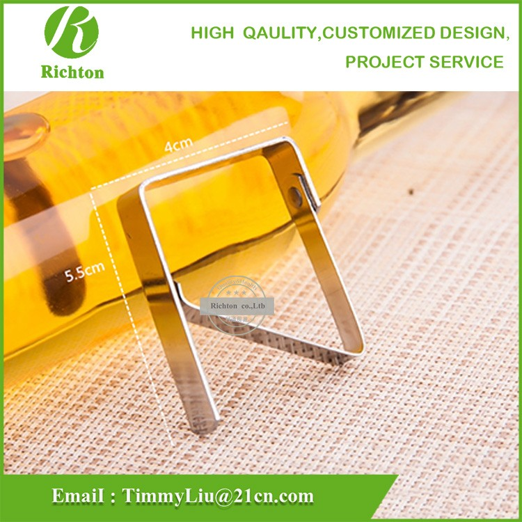 Stainless Steel Home Party Desk Table cloth Clamp/Table Cloth Clip